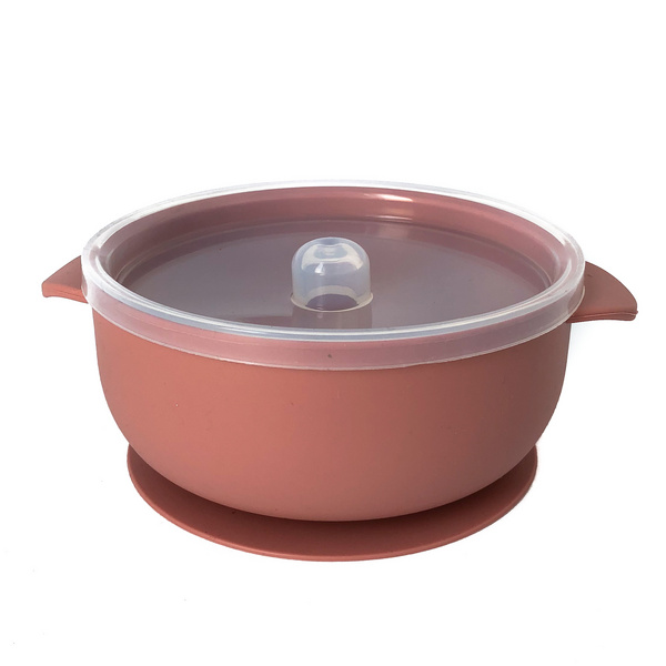 Silicone Bowl - Rose Dawn